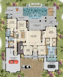 mediterranean house plans. Fine House Coastal Florida Mediterranean House Plan 71542 Level One Intended Plans A
