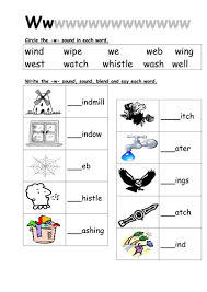 Does walrus have the same beginning sound as weasel or vulture? Phonics Worksheets Isolated Sounds Teaching Resources