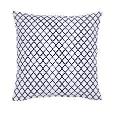 moroccan throw pillows. White And Navy Moroccan Throw Pillow Pillows