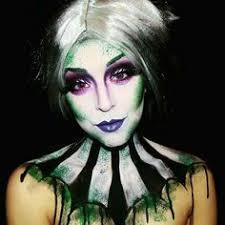 glam d up beetlejuice eye makeup eyes scary