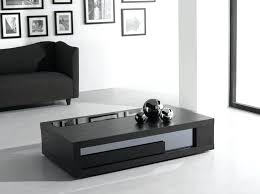 black modern coffee table black modern coffee table shapes ultra modern black and white leather glass coffee table