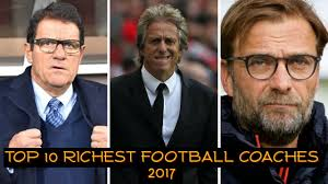 He is currently managing dalian professional. Top 10 Richest Football Coaches 2017 Latest Ranking 2017 World Best Football Coaches Youtube