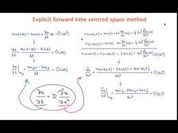 explicit forward time centred space
