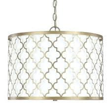gold drum chandelier capital lighting 3 light drum pendant in brushed gold gold drum chandelier