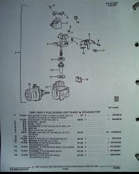 how to diagnose and repair a top pull down motor assembly drawing from allante parts illustration guide
