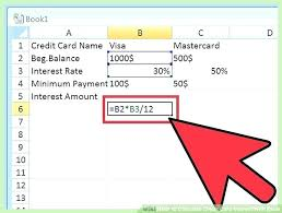 Credit Card Payoff Schedule Credit Card Amortization Schedule Excel Credit Card Debt