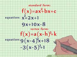 image titled graph a quadratic equation step 1
