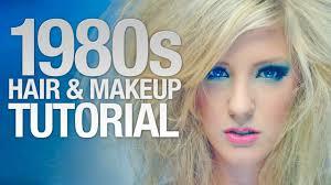 80s hairstyles tutorial