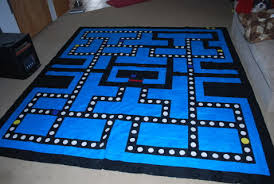 King Size Quilt Patterns Extraordinary Free Custom Made By Me Pacman King Size Quilt Pattern Sewing