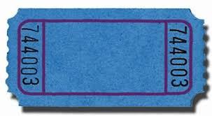 Raffle Ticket - 1 | Austin Eco Bilingual School International ... One Ring Toss Ticket