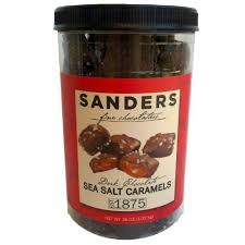 sanders dark chocolate sea salt caramels 36 ounce each conner super value 2 pack by sandersà Â