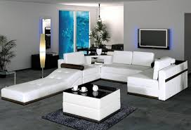 dark glass cube top coffee table white leather living room furniture set living room ottoman storage