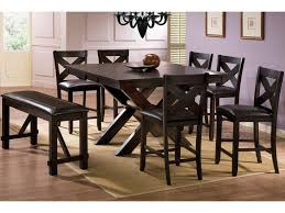 Edgewater 8 Piece Counter Height Dining Set With Bench By Winners Only At Lindys Furniture Company
