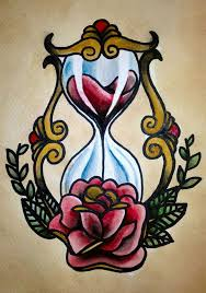 Traditional Tattoo Hourglass By Psychoead On Deviantart Tattoo
