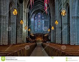 Princeton University Chapel Interior Stock Photo Image Of