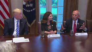dgo mayor sam abed meets with president trump