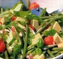 Рецепты салатов с зелёной фасолью с фото
