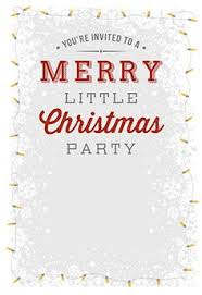 Free Christmas Party Invitation Templates Xmas Invite Template