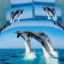 Dolphin Bedding Sets | eBay & Dolphin Ocean - 6 Pc KING Sheet Set 100% Cotton Duvet Cover Bedding Dolce  Mela Adamdwight.com