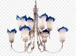 chandelier ceiling cobalt blue light fixture design