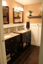 Bathroom double vanities ideas Tower Double Vanity Bathroom Like The Idea Of The Separate Sinks Cldverdun Double Vanity Bathroom Like The Idea Of The Separate Sinks Before