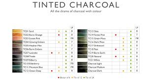 Tinted Charcoal Pencils