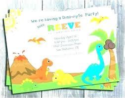 free dinosaur party invitations dino invitations abdullahtech