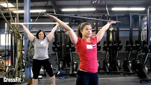 l1 instruction shoulder position in the overhead squat