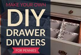 tutorial diy drawer dividers bedroom dresser edition