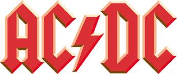 AC DC Logo Aufkleber - TenStickers