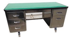 Vintage steel furniture Automotive Office Retro Office Inc Vintage All Steel Furniture Co Tanker Desk Chairish