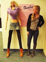 life size barbie s shocking dimensions photo would she be anorexic cbs news