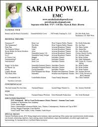 Professional Theatre Resumes Actor Resume Template Elegant Professional Acting Resume Unique