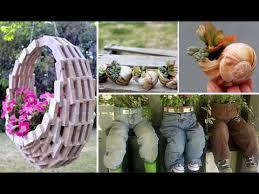 garden pots cheap. 34 Easy And Cheap DIY Garden Pots You Never Thought Of