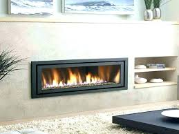 non vented gas fireplaces installation fireplace insert cost vs ventless