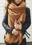 Oversized scarves and wraps the love list