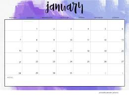 Image result for january calendar