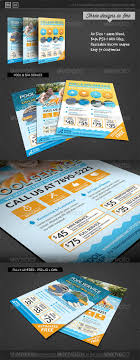 pool service flyers. Pool \u0026 Spa Service Corporate Flyer \u2014 Photoshop PSD #clean #efficient \u2022 Available Here Flyers