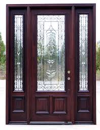 exterior front doors with wrought iron glass