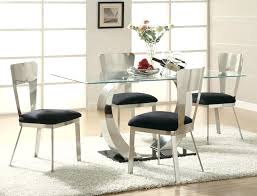 round glass dining room set table sets clearance