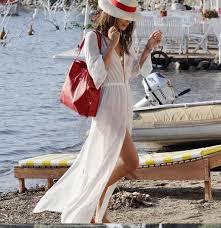Туники для пляжа Белый <b>бикини Cover Up</b> Купальники шифон с ...
