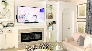 Built In With Fireplace New Home Improvement Diy Family Room Fireplace Built In Tour