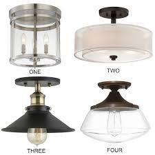 farmhouse kitchen lighting. Farmhouse Kitchen Lighting Ideas Flush Mount O