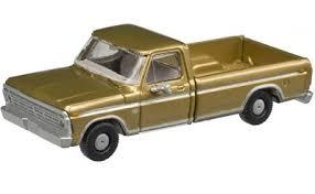 Atlas N 60000113 1973 Ford F-100 Pickup Trucks, Sequoia Brown (2 ...