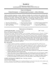 Manufacturing Resume Templates Extraordinary Product Manufacturing Resume Example Resume Examples Pinterest