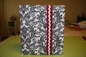 create binder cover the holiday planner create a removable binder cover with fabric
