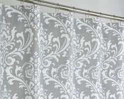 extra long grey shower curtain. 72 x 78 long grey damask shower curtain extra by pondlilly, $129.99 extra long e