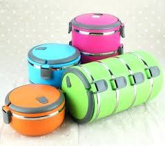 keep food warm three layers stainless steel thermal insulation vacuum lunch box kids keep food warm