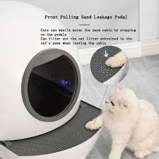 Tự Động Tự Vệ Sinh Mèo Hộp Đóng Hoàn Toàn Phân Máy Khử Mùi Bedpan Tự Động  Xẻng Khử Trùng Bằng Tia Cực Tím CÁT VỆ SINH Mèo|Hộp Đi Vệ Sinh Mèo
