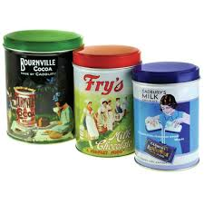 Retro Kitchen Canisters Set Of 3 Retro Cadbury Collection Kitchen Canisters